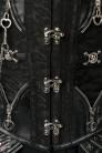 Корсет Стимпанк с удлиненной боковой частью (121157) - цена