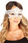 Белая кружевная маска 901002 (901002) - оригинальная одежда