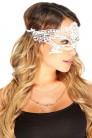 Белая кружевная маска 901002 (901002) - цена