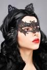 Карнавальная маска и обруч с ушками CC2001 (912001) - foto