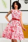 Летнее платье с цветочным узором X5349 (105349) - цена