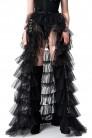 Накладная юбка из фатина (107165) - foto