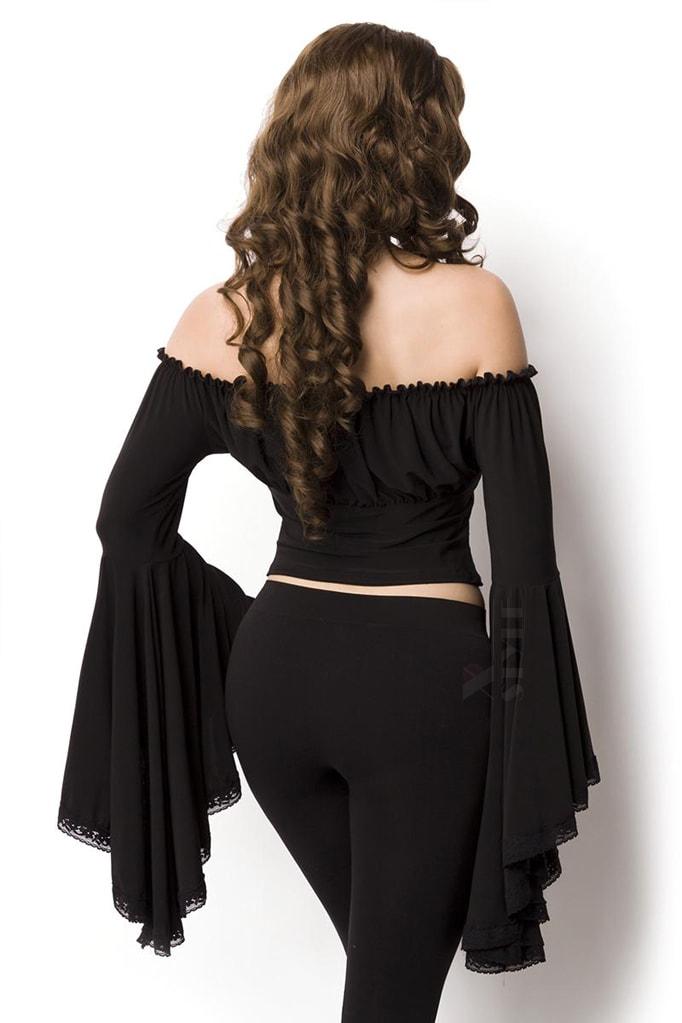 Блузка в пиратском стиле A1211