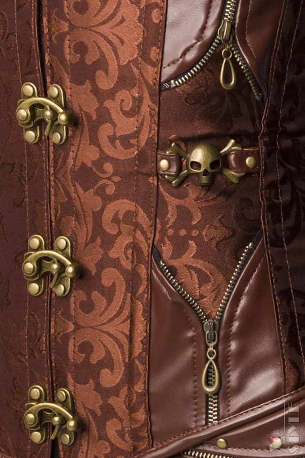 Корсет Steampunk Brocade A1156