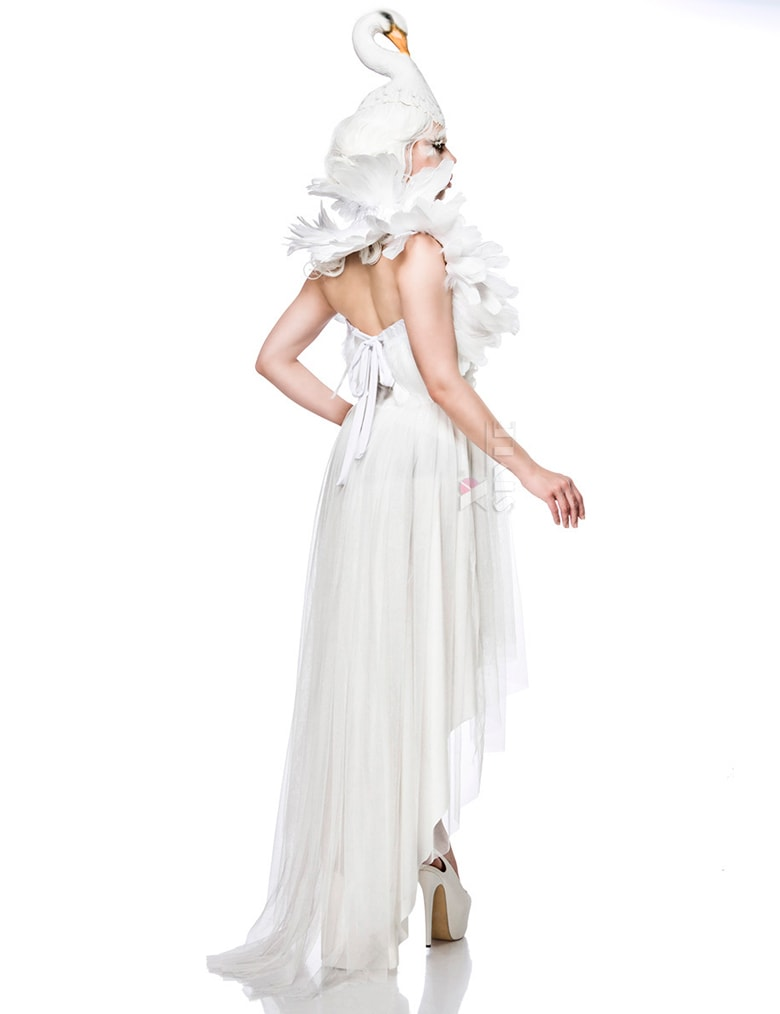 Костюм белого лебедя Mask Paradise