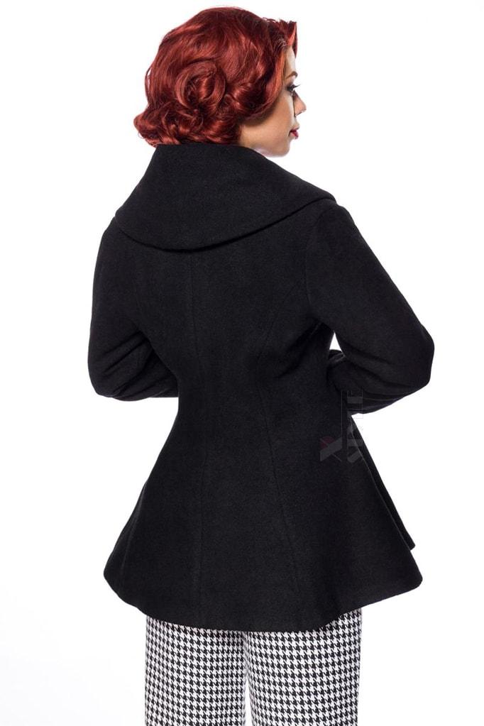 Винтажное пальто из шерсти Belsira