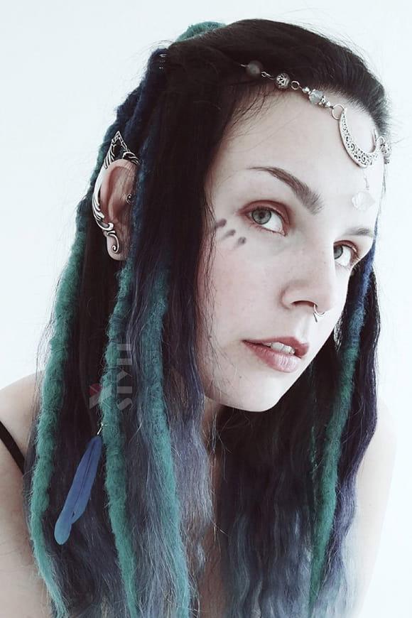 Серьга Elfea